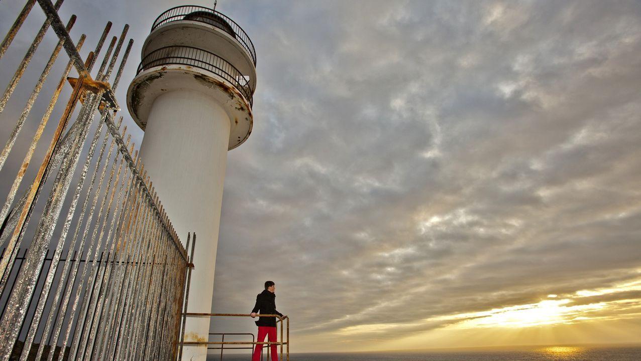 Cabo Touriñán al atardecer