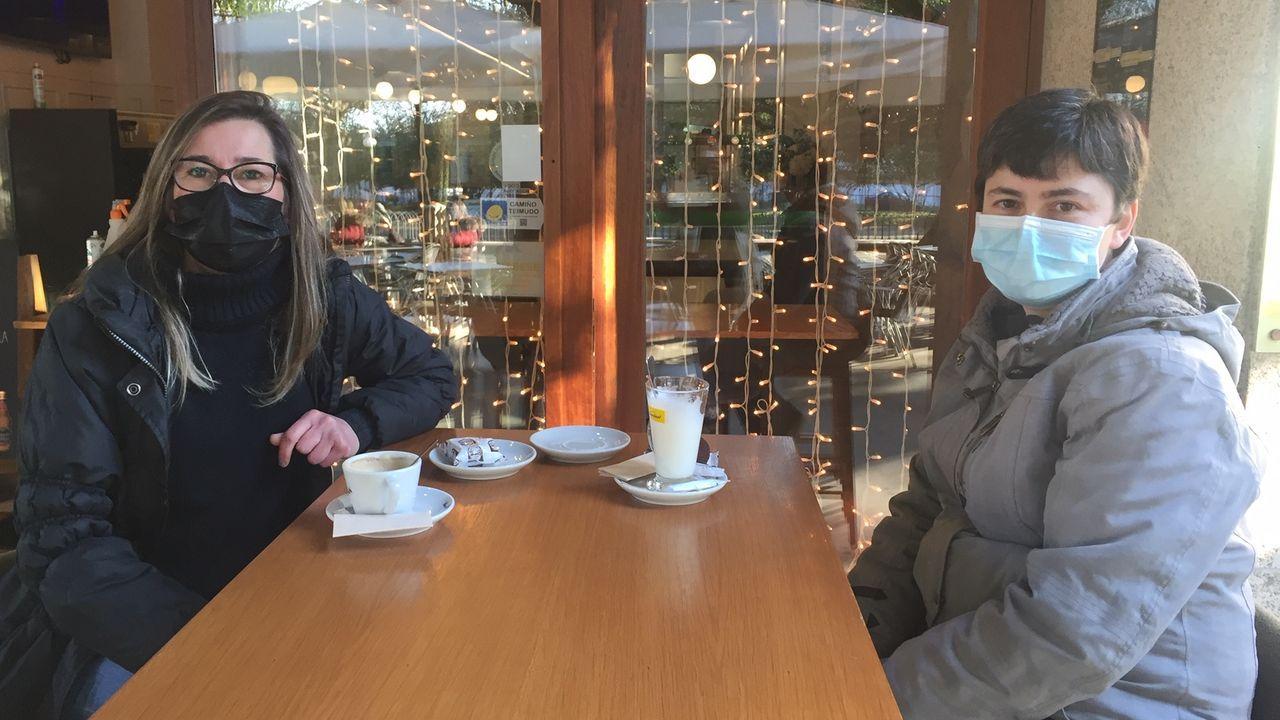 Eva Rodríguez y Elena Vázquez han sido enviadas al ERTE por las nuevas restricciones
