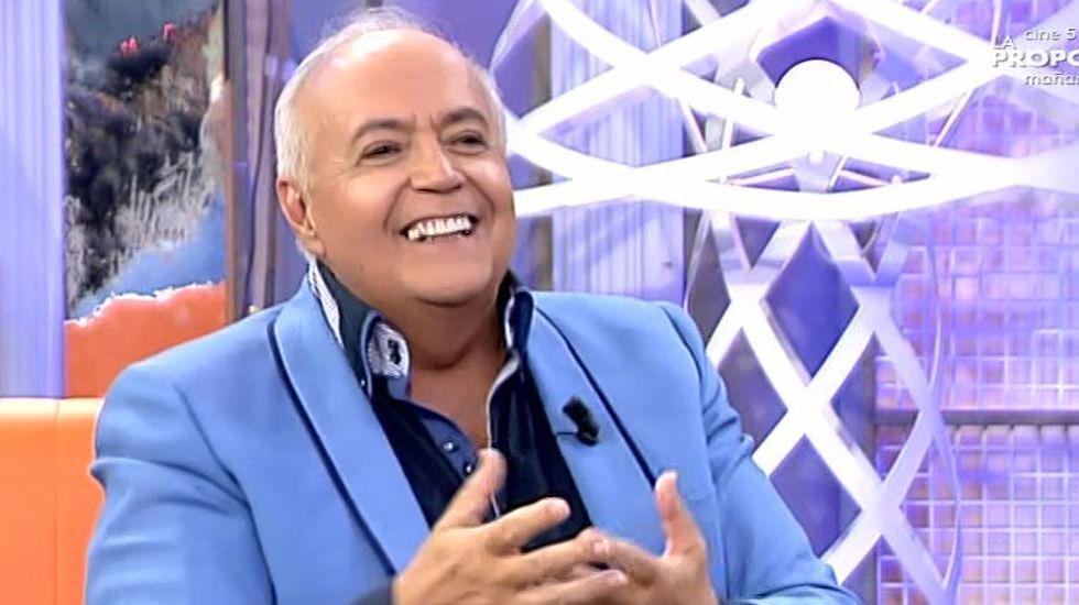 Edu García se acuerda del productor de «La que se avecina» en un rap.Cristina del Valle, Alberto Comesaña y José Ángel Hevia