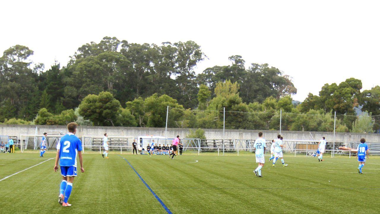 Anca, durante la presentación de la segunda parte del libro: Otros tiempos. El fútbol en Santiago