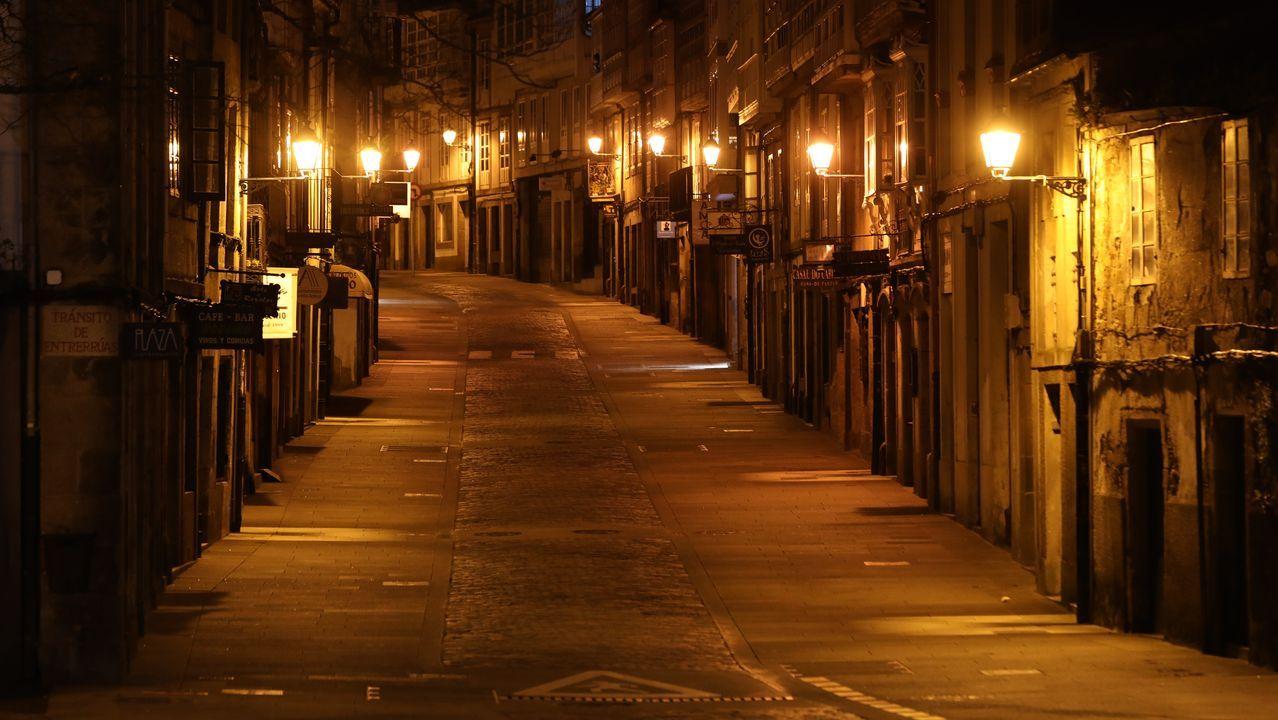 Rúa de San Pedro (Santiago).
