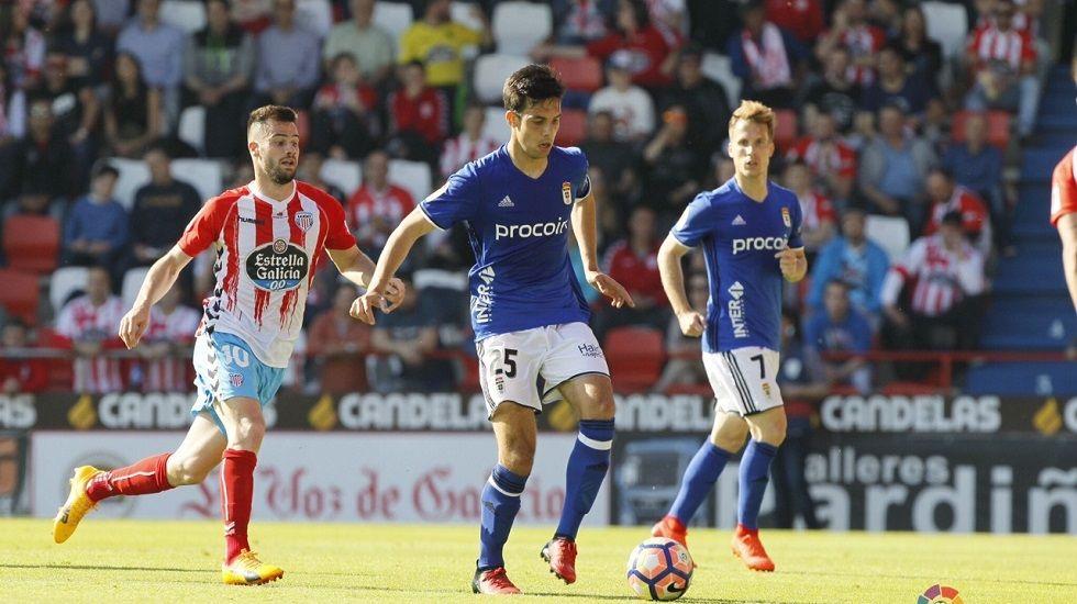 Michu Real Oviedo Nastic Carlos Tartiere.Los jugadores del Oviedo celebran el gol de Toché