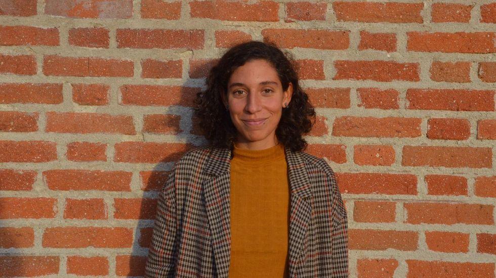 Clara Reigosa, becaria de la Fundación Barrié 2020, que hará un máster en gestión de museos en la Universidad de Nueva York