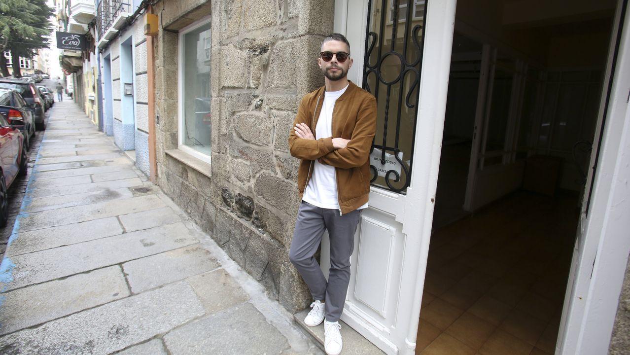 Borja Fernández transformará un local comercial de la calle María en una vivienda tipo loft con jardín en el patio trasero