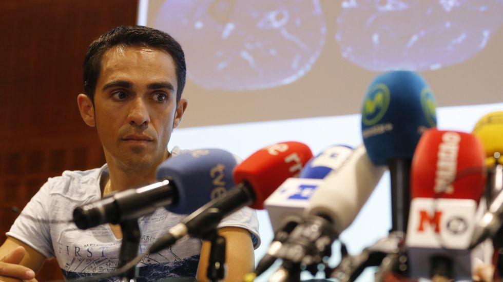 La renuncia de Contador