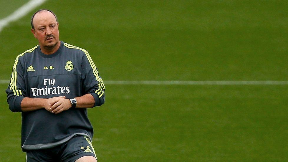 Benítez: «Si yo fuera Benzemá reaccionaría metiendo dos goles»