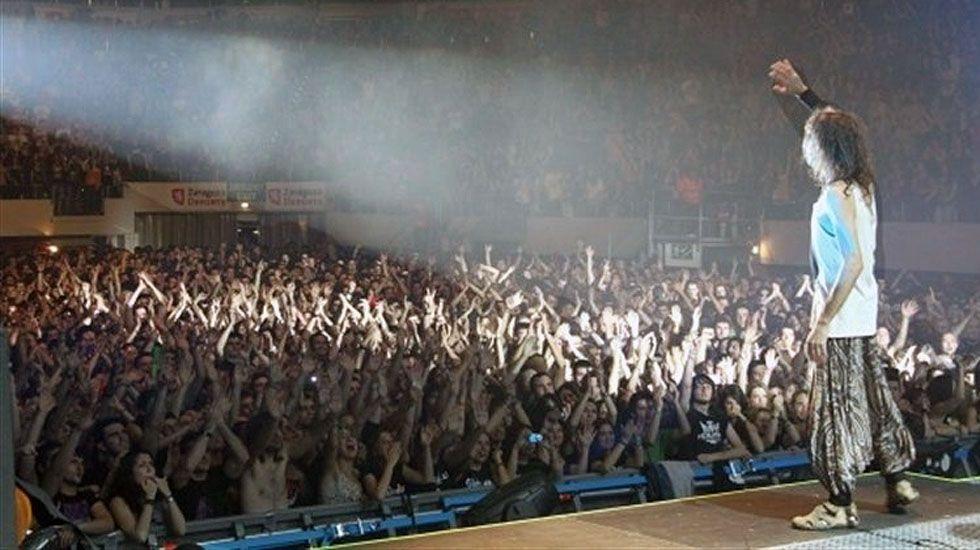 Un concierto de Extremoduro.Un concierto de Extremoduro