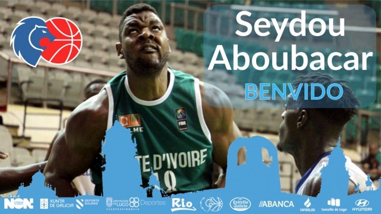 Seydou Aboubacar, último fichaje del CB Breogán