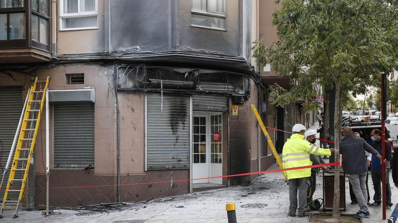 Incendio de Lobios el pasado 14 de septiembre