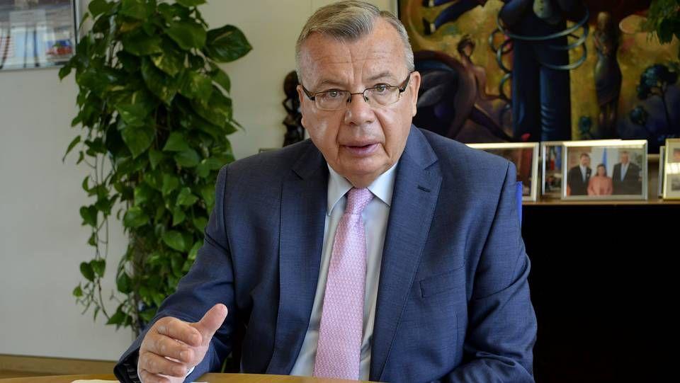 El director ejecutivo de la Oficina de Naciones Unidas contra la Droga y el Delito, Yuri Fedotov.