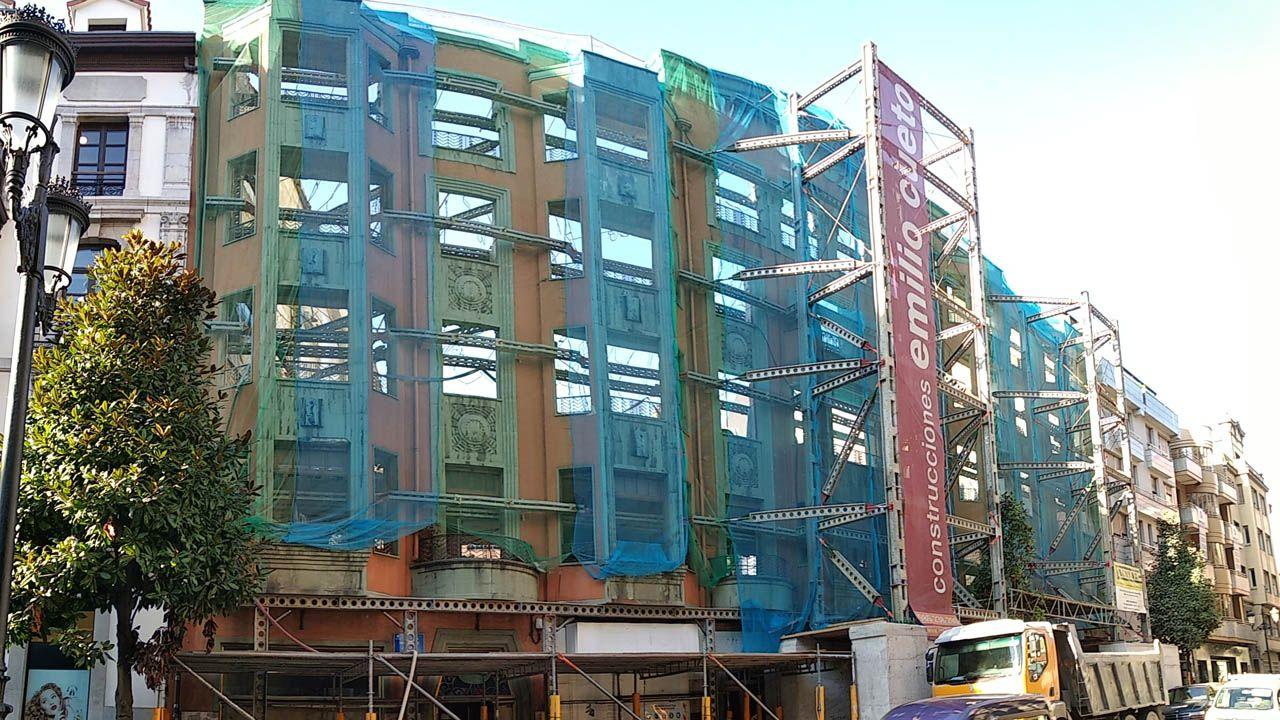 Edificio de Zara en Oviedo
