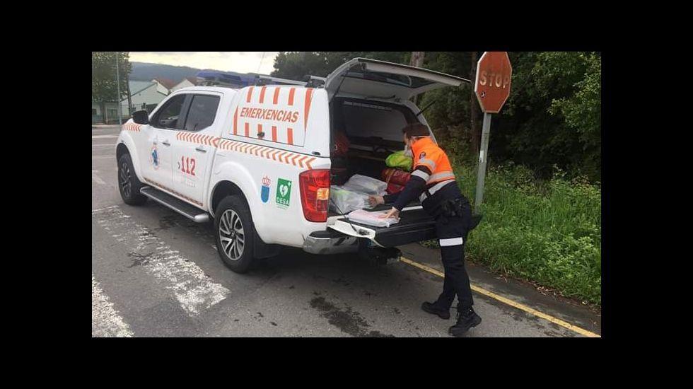 Ana está entre los 900 coruñesas con ayuda de voluntarios
