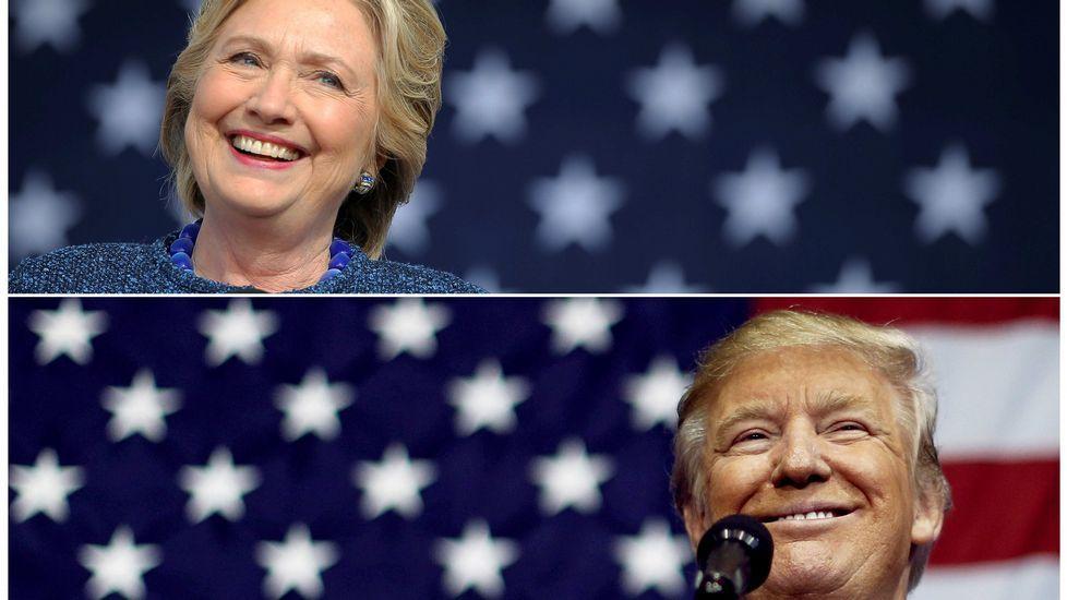 Los jóvenes americanos que viven en Galicia apuestan por Hillary