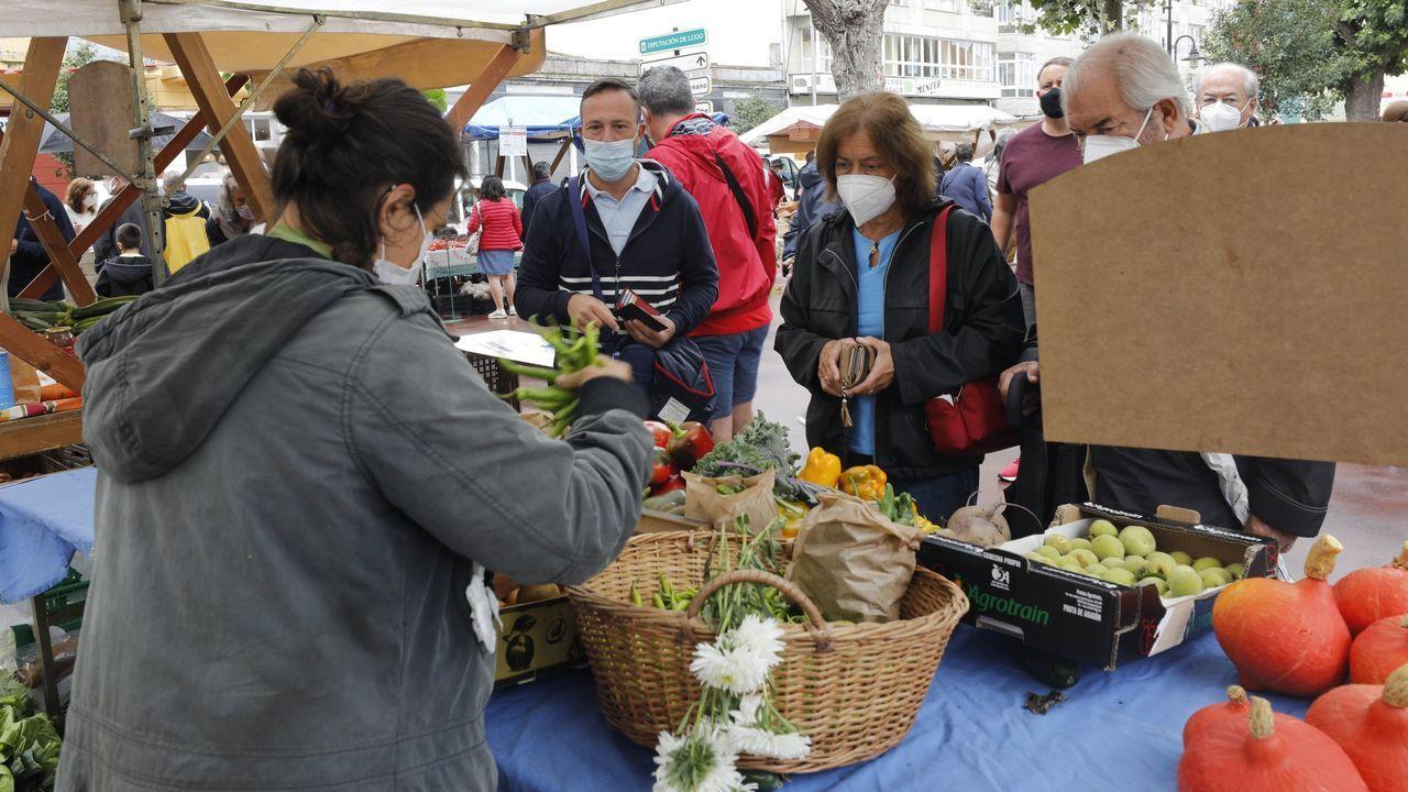 El mercado tradicional dominical se celebrará en el entorno de la plaza de abastos, en el corazón de la villa mariñana
