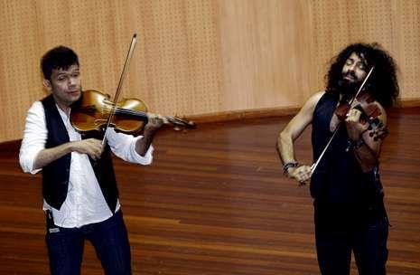 Concierto del violinista Ara Malikian en Burela.