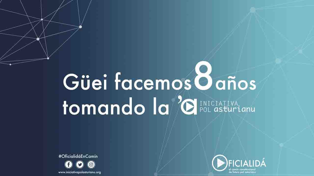 Iniciativa pol Asturianu celebra ocho años