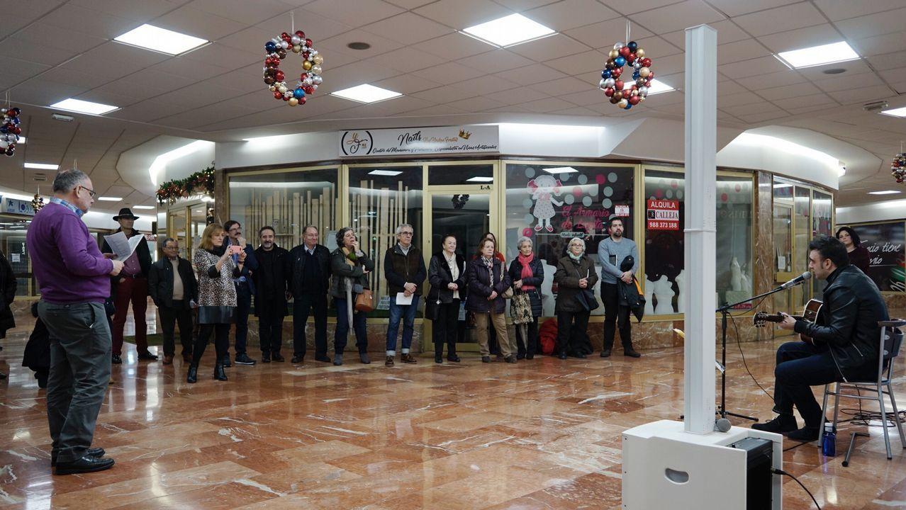 Navidad en Ourense.Recital poético del CCA