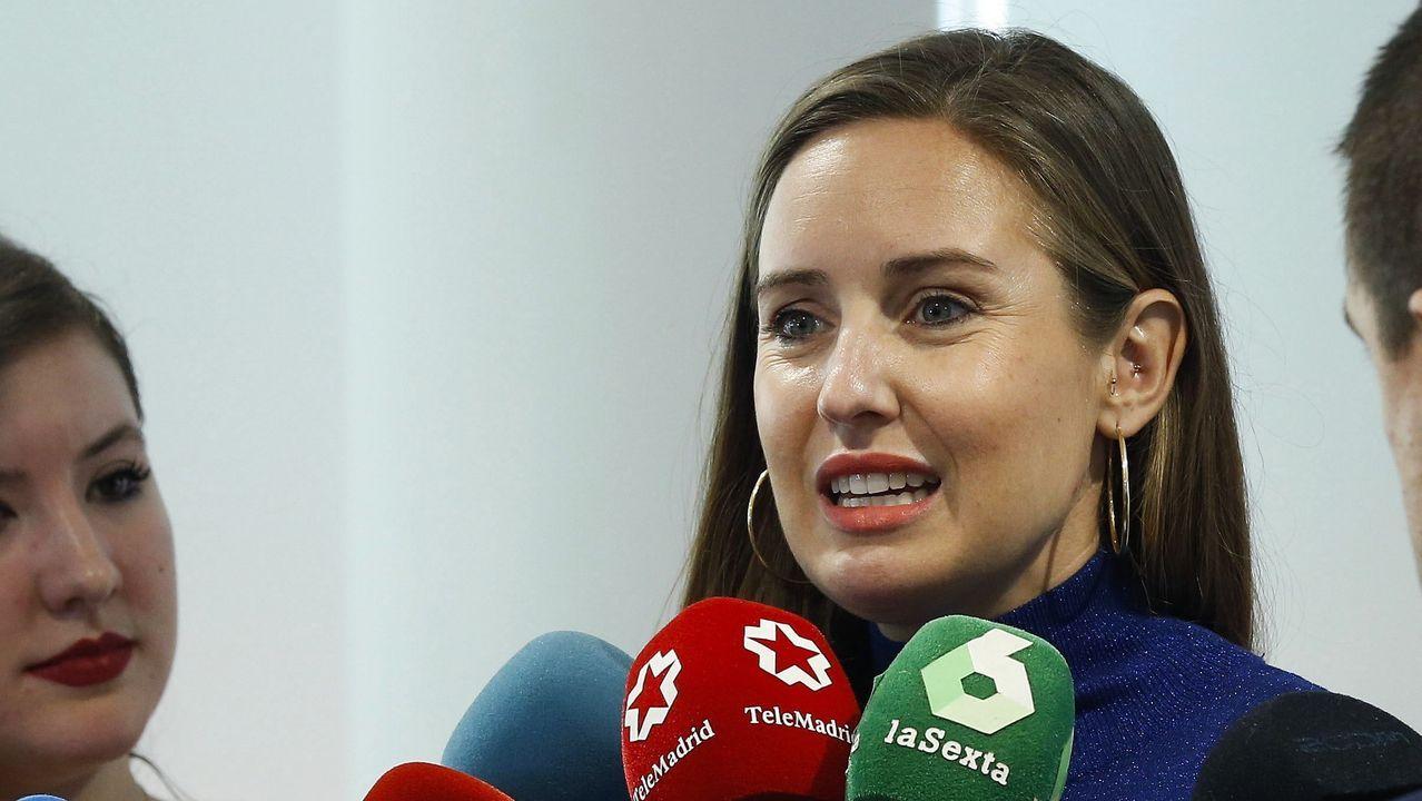 Melisa Rodriguez, portavoz de la gestora de Ciudadanos