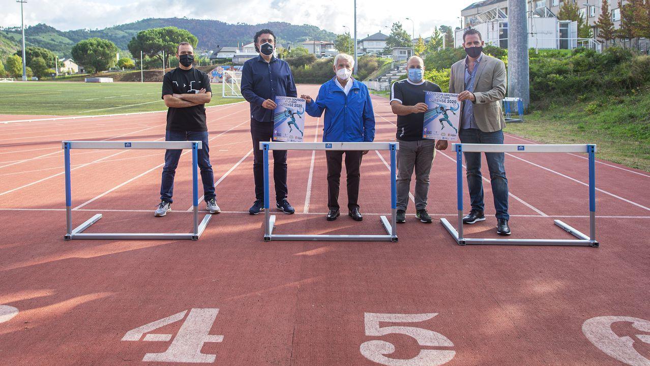 Presentación de la Copa Deputación de Atletismo