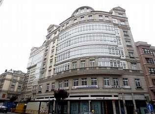 Fachada del edificio Conde de Fenosa, situado en la calle de Fernando Macías
