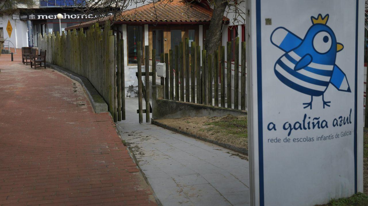 Imagen de la escuela infantil de la red Galiña Azul en Mera