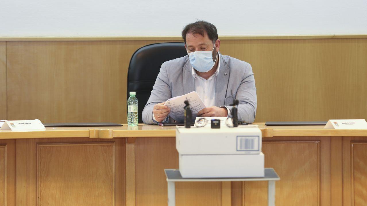 Ayuso comparece trasromper con Cs y convocar elecciones anticipadas en Madrid.Gonzalo Pérez Jácome, alcalde de Ourense