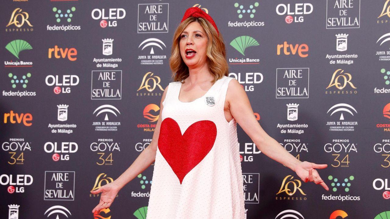 La actriz Pilar Ordóñez
