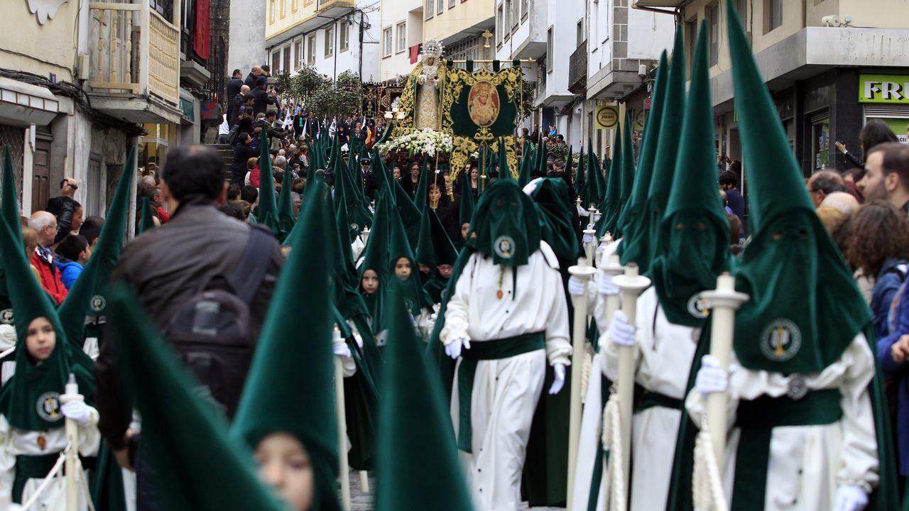 La Semana Santa empieza a latir en Viveiro