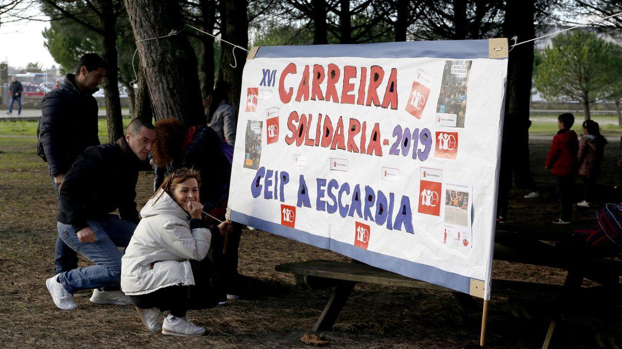 Carrera solidaria de los institutos de Boiro.Teresa Castro dará hoy una charla en Baíñas