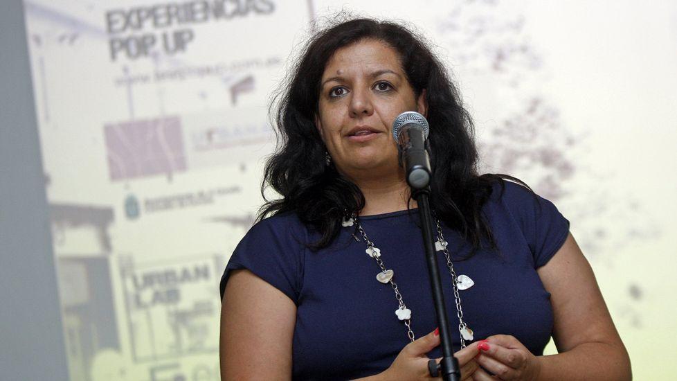 María Luisa Cid, en un acto como concejala en el 2014