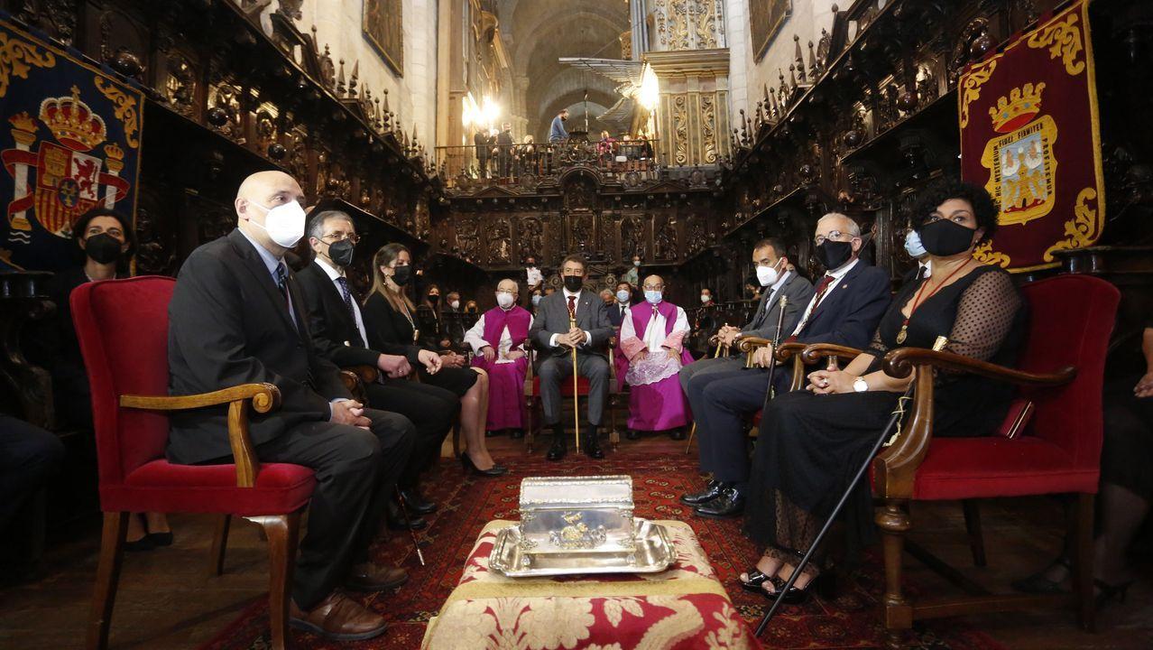 Alcaldes e tenentes de alcaldes das sete cidades do Antigo Reino de Galicia