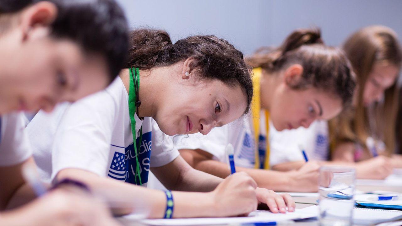 Imagn de archivo de estudiantes del programa de becas de la Fundación Amancio Ortega en Estados Unidos