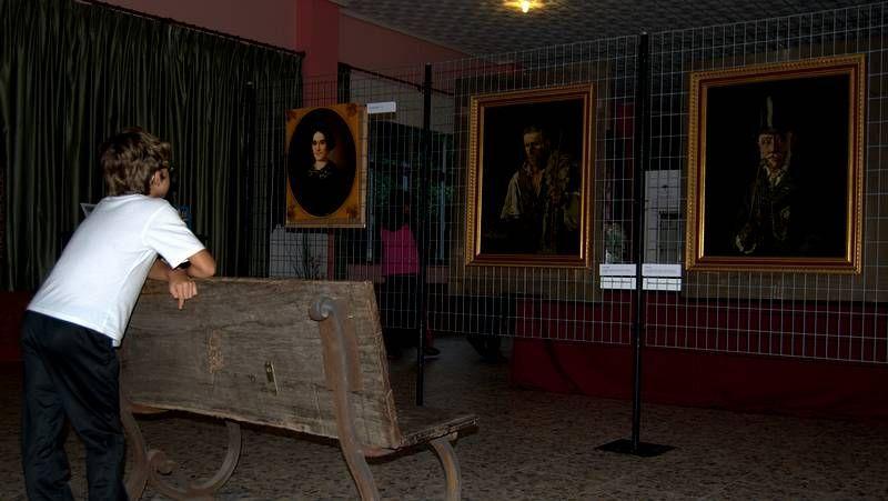 Letizia Ortiz inaugura «la exposición del siglo»
