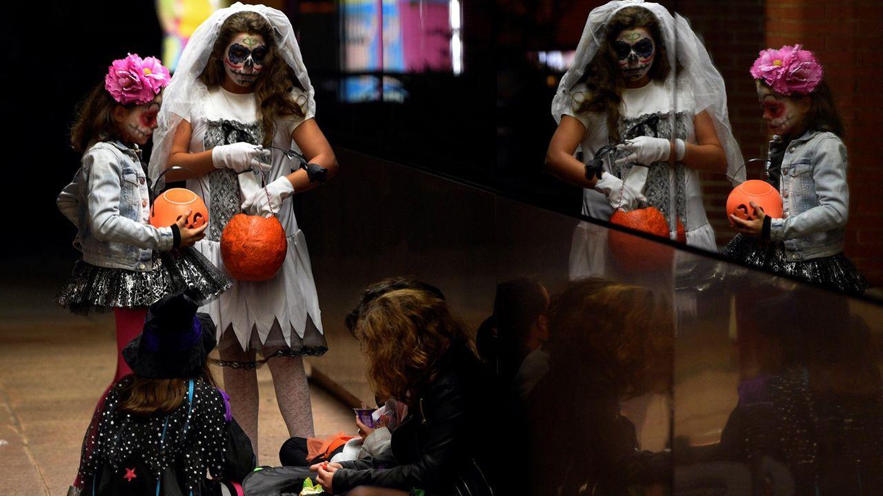 Una fiesta de Halloween en La Fresneda