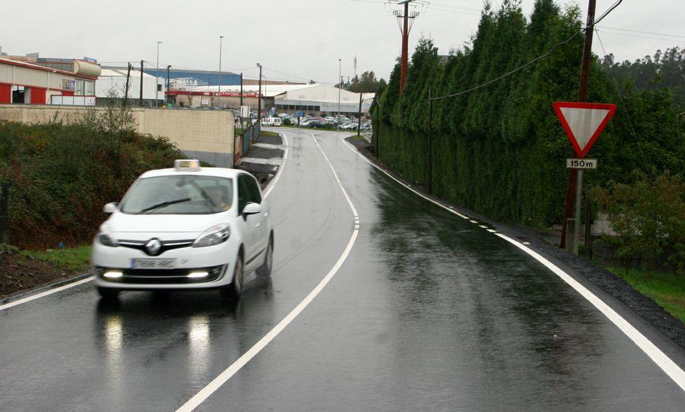 El tramo con el firme reparado tiene una longitud de medio kilómetro.