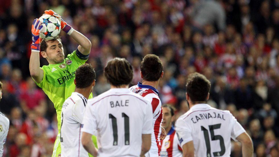 La emocionante despedida de Casillas