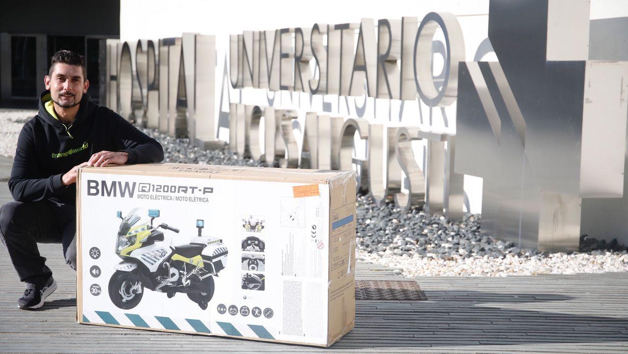 En 2015 Anxo Castiñeira encaró un nuevo reto: cruzar Europa en moto en 23 horas