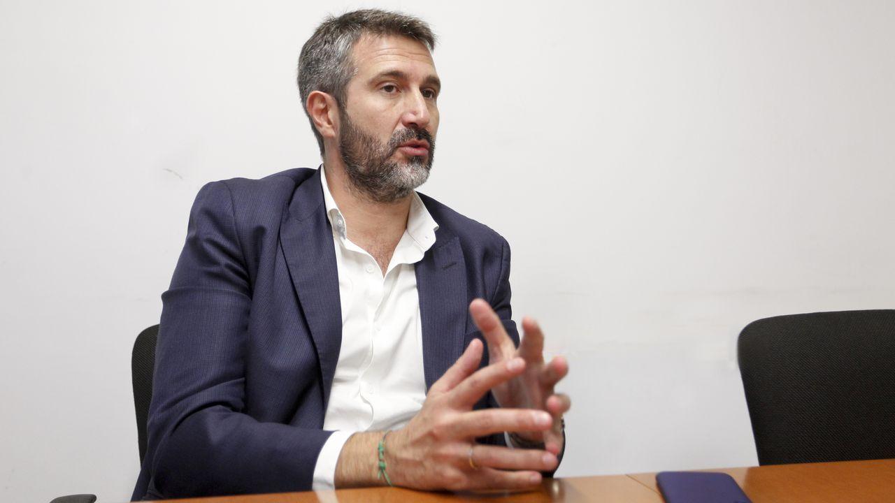 Varela comprométese a traballar por unha distribución xusta de fondos e competencias. mónica irago