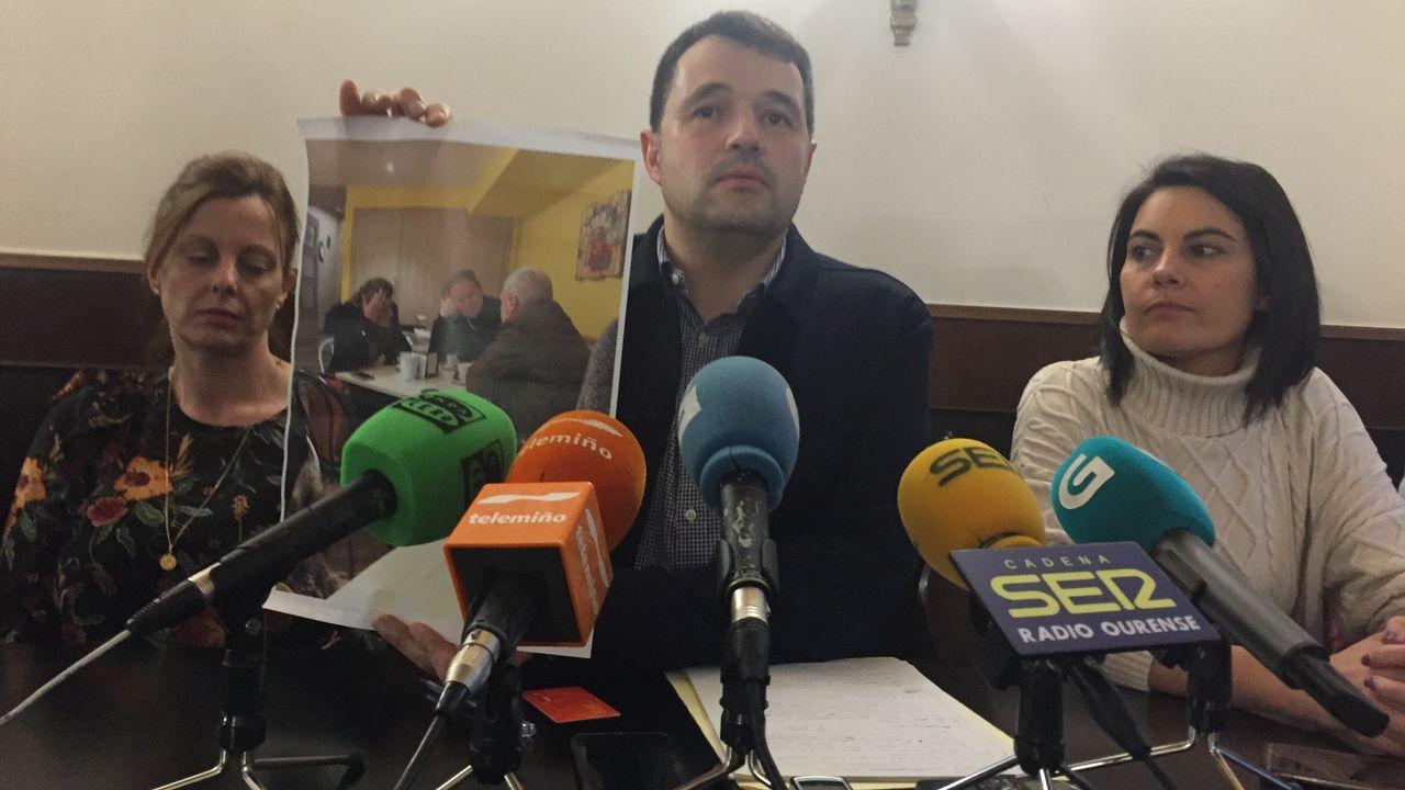 Francisco Fraga, exportavoz del PSOE en la Diputación, abandona el partido.Incendio en Caldas de Reis durante octubre de 2017
