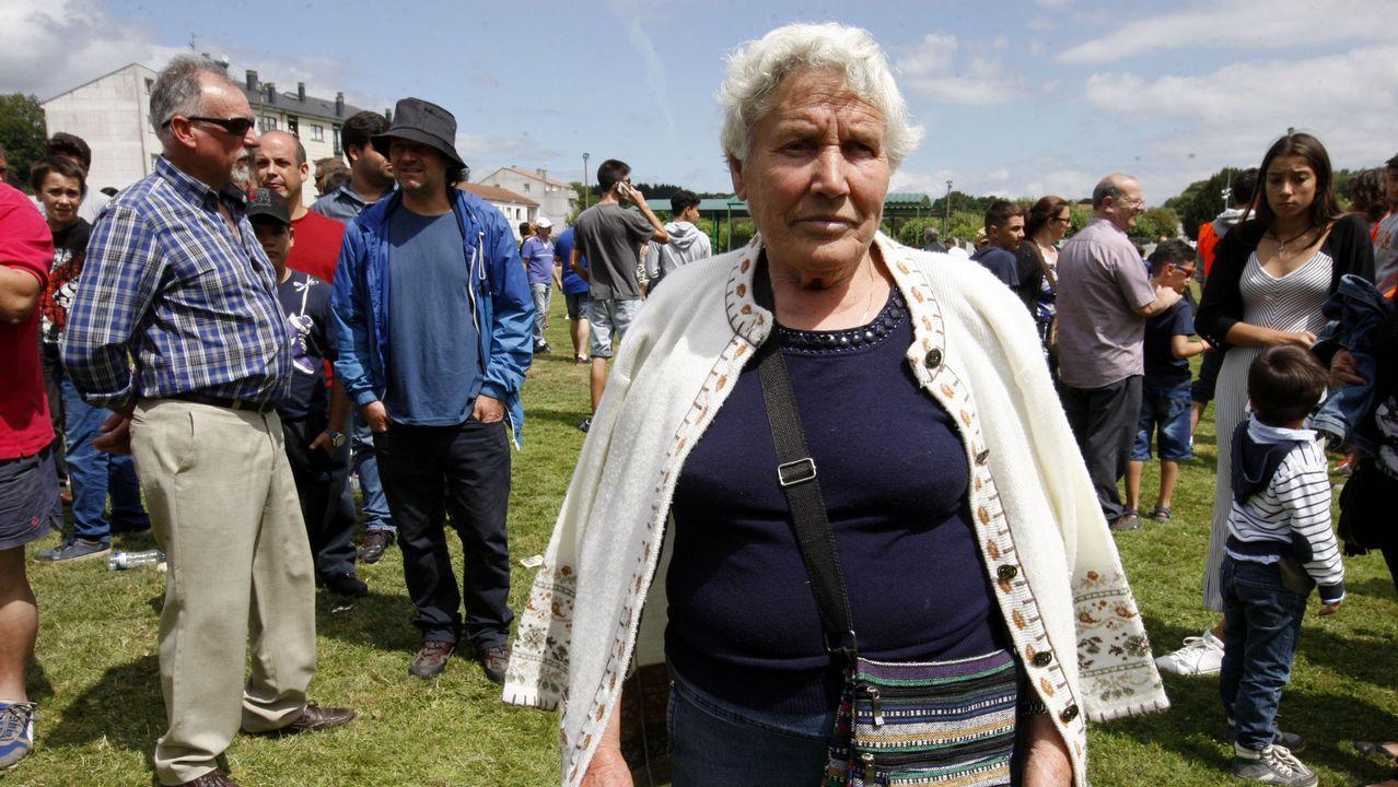 Josefa Estévez, 80 años. Nació en Ourense y vive en Pantón. Fue ama de casa