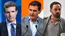 PP, Ciudadanos y Vox, juntos enuna manifestación este domingo en Madrid