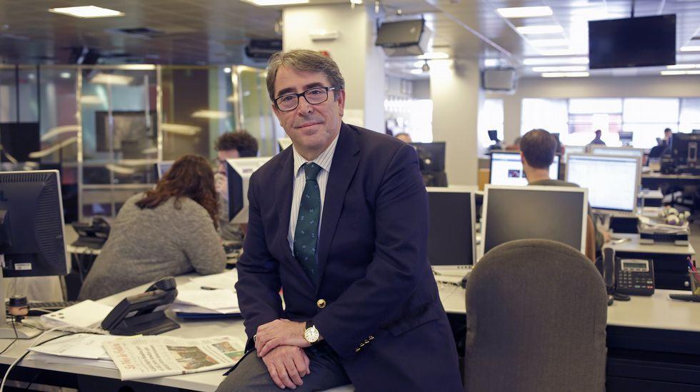 Gorka Villar, hijo del presidente de la Federación Española de Fútbol, Ángel María Villar