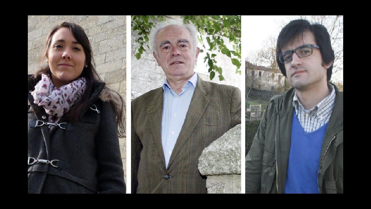 Tamara González, Xosé Méndez e Claudio Otero son os autores do traballo galardoado