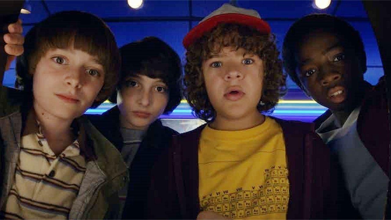 Fotograma de la serie «Strangers Things», que emite Netflix
