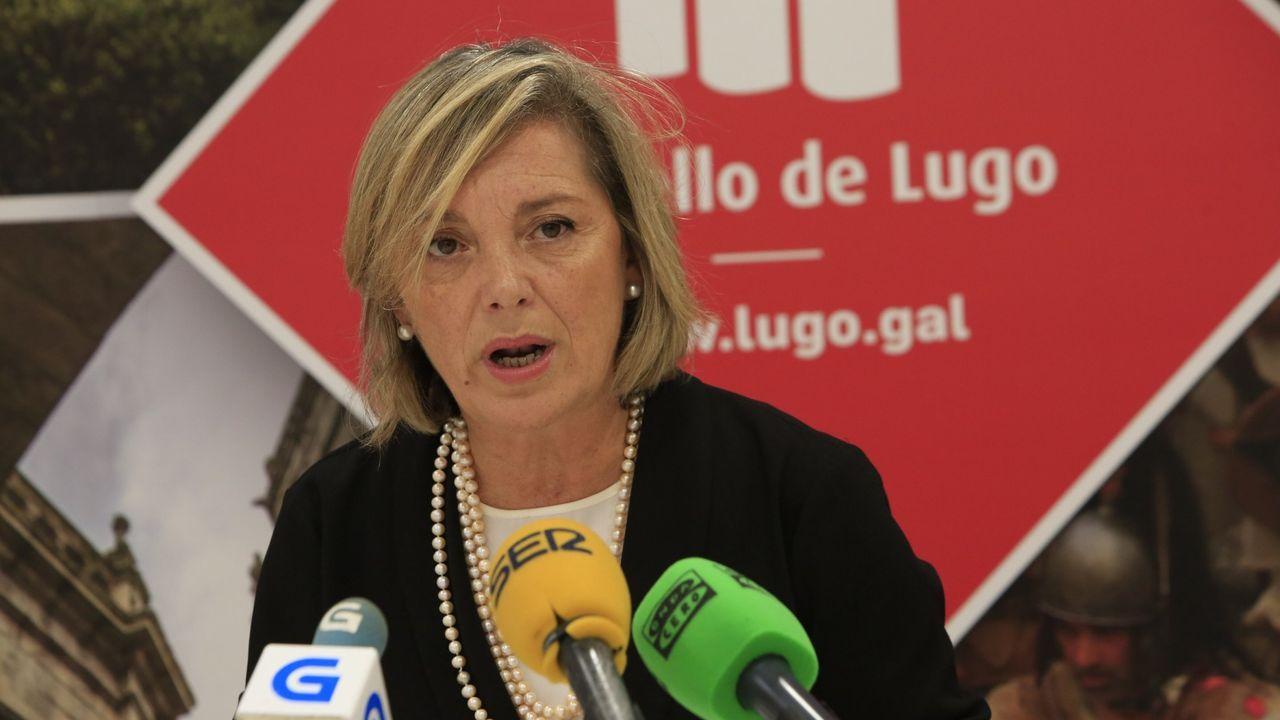 A edila Paula Alvarellos