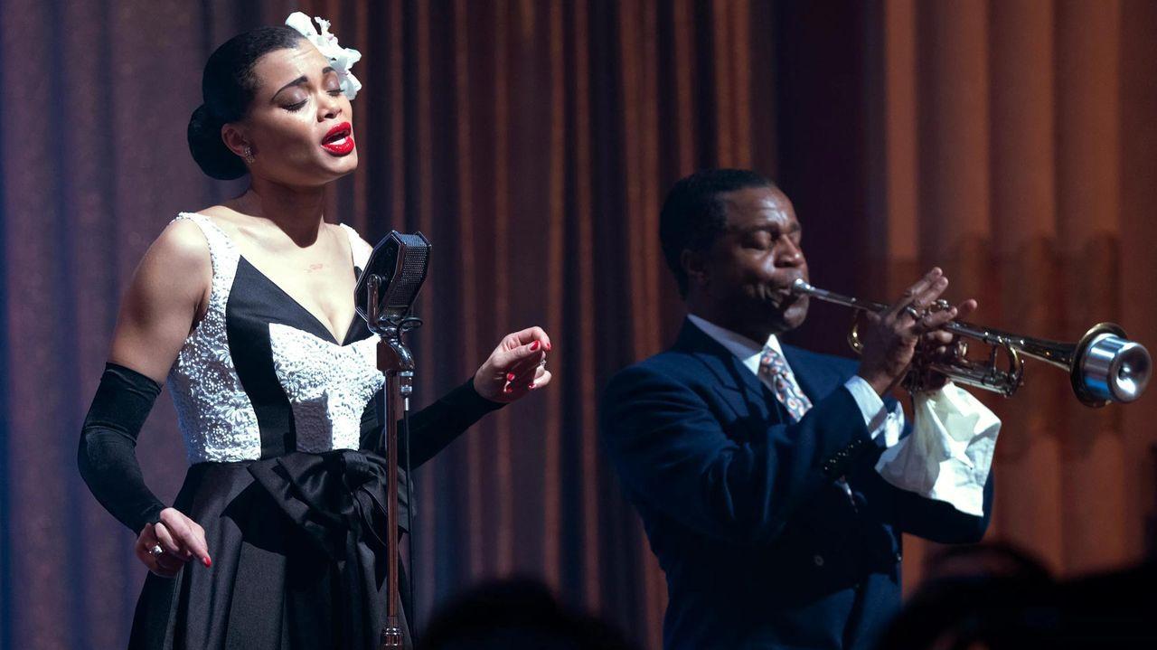 Fotograma del filme «Los Estados Unidos contra Billie Holiday»