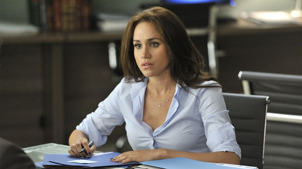 Meghan Markle, en la serie «Suits»