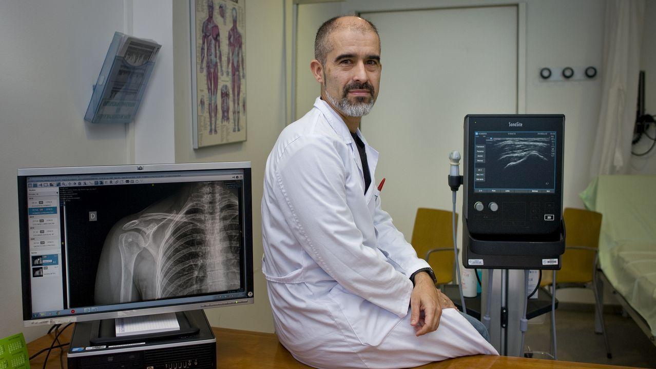 El doctor Jacobo Formigo que dará la próxima Charla Saludable.