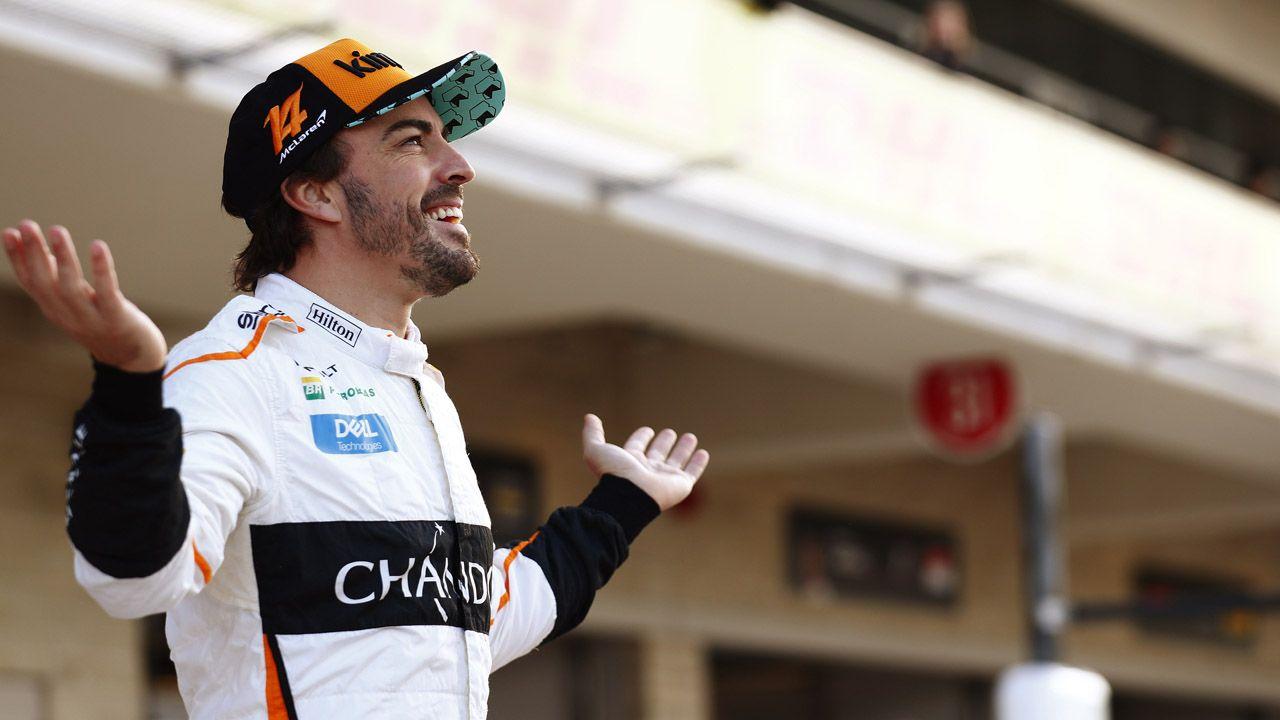 Superdeportivos en el Salón de Ginebra.Fernando Alonso en el Gran Premio de Estados Unidos 2018