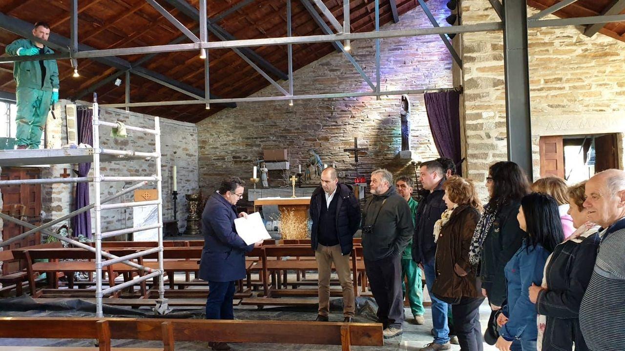La iglesia de Santa Cruz do Incio, una muestra destacada de arquitectura contemporánea, pasó por una rehabilitación integral